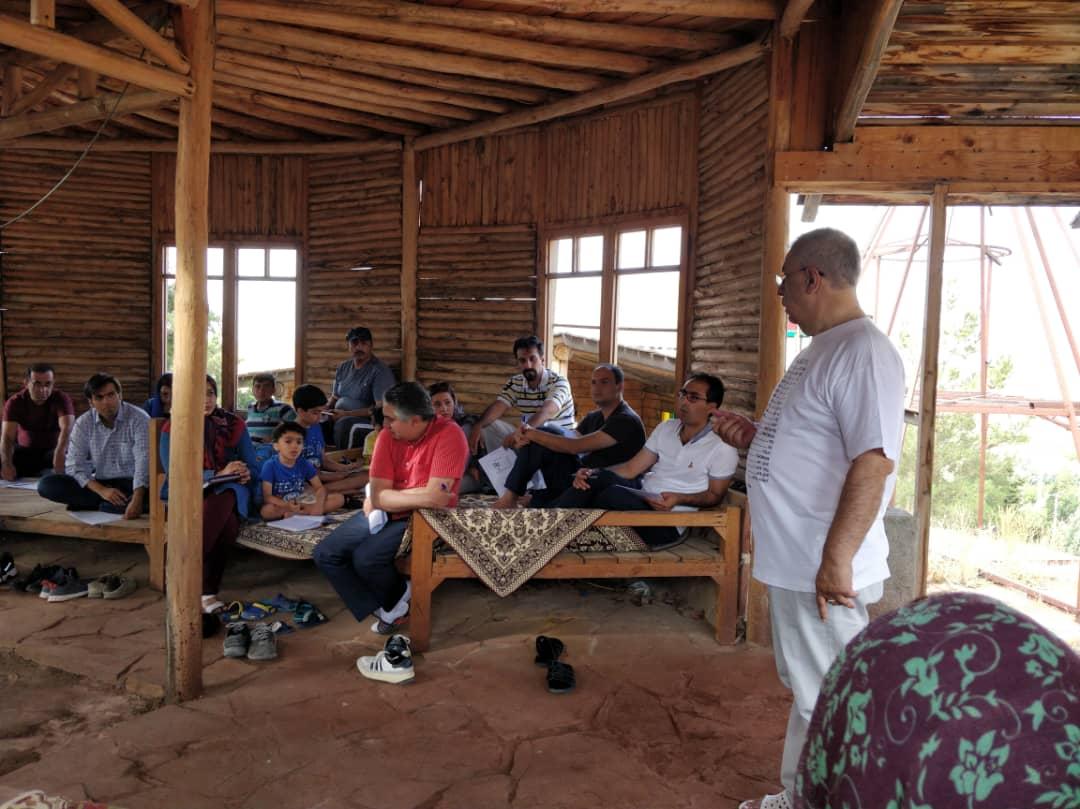 سومین سفر یادگیری تیم نجات در استان قزوین برگزار شد